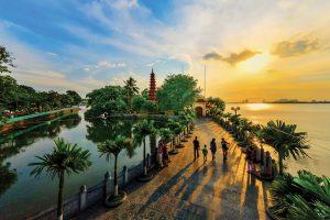 pagode Tran Quoc Vietnam