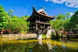 pagode au pilier unique Vietnam